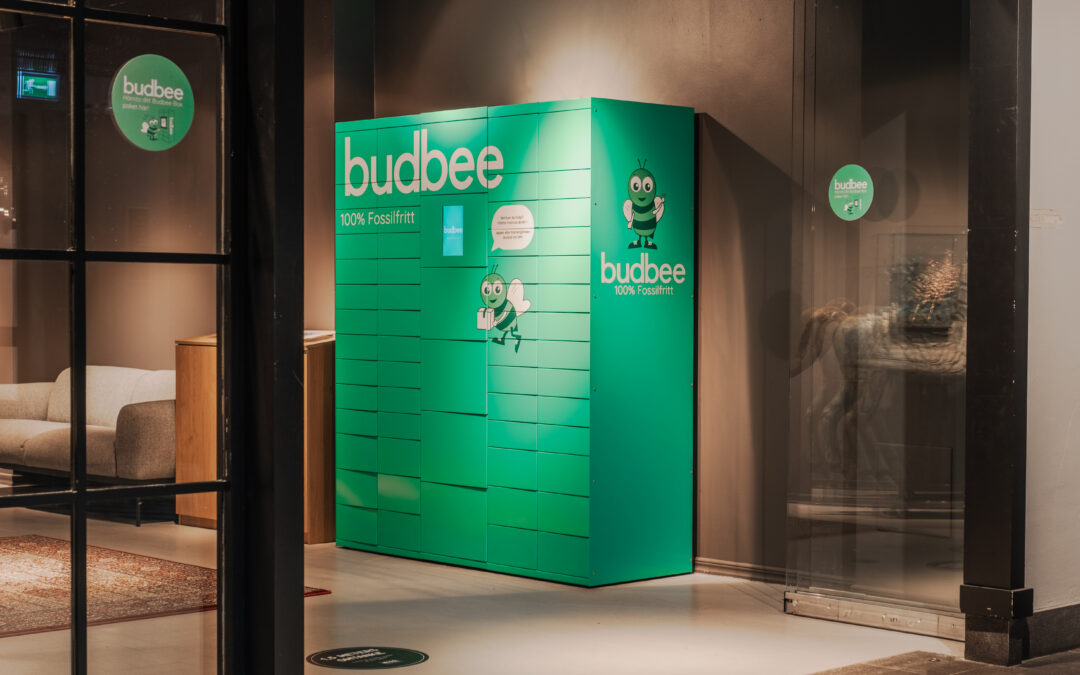 Budbee in a new and exciting collaboration with Recommended By